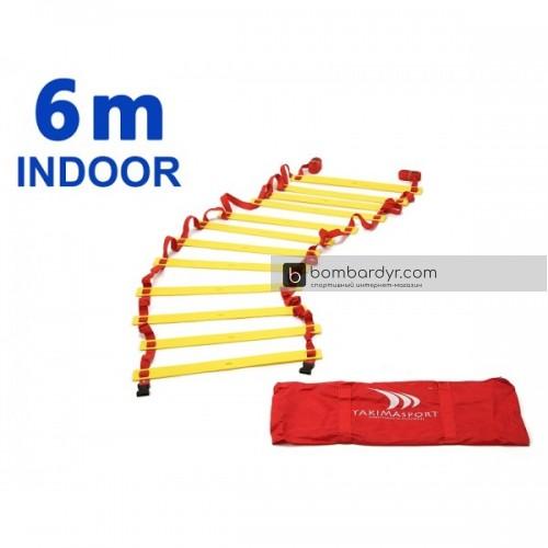 Лестница тренировочная Yakimasport для зала 6 м Indoor 100125