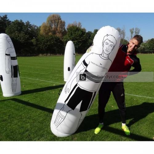 Надувной футбольный манекен Yakimasport 100039, стенка 205см Якимаспорт
