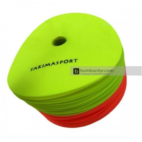 Набор плоских кругов-маркеров Yakimasport 100054