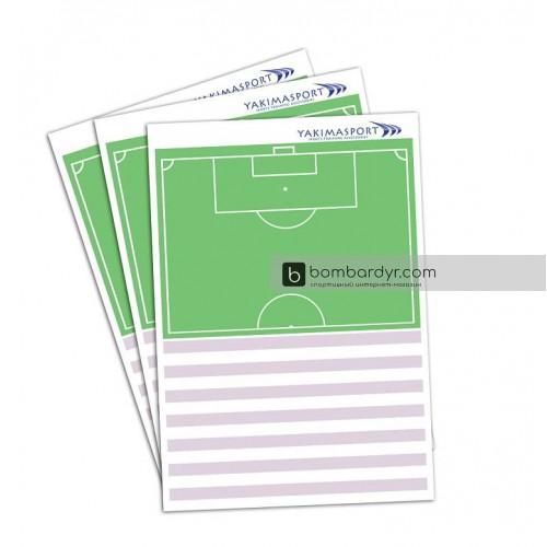 Тактический блокнот, планшет тренера для футбола Yakimasport 100242