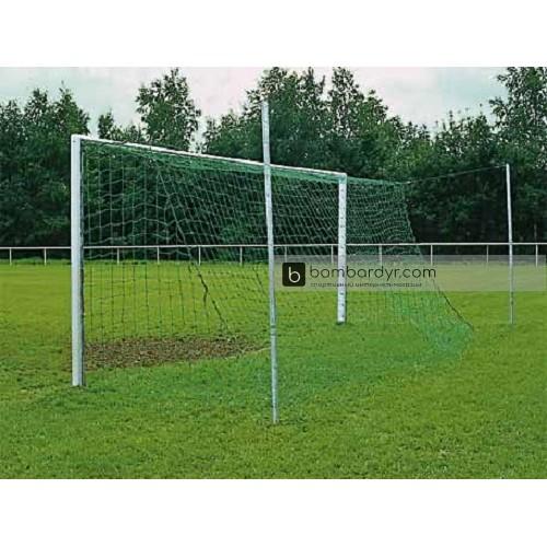 Сетка для футбольных ворот 7,33 X 2,44м Yakiamsport PRO 4мм, зеленая, 100112