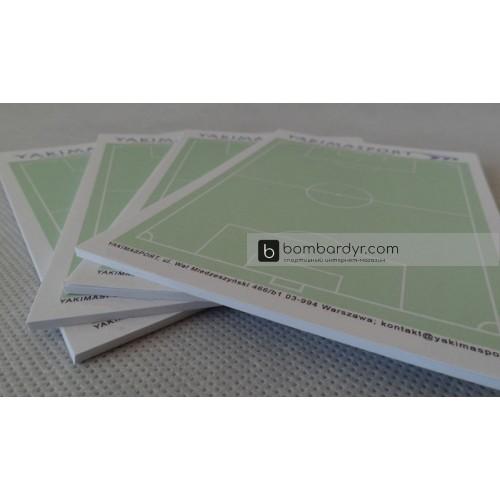 Комплект тактических блокнотов по футболу А6 Yakimasport 100195