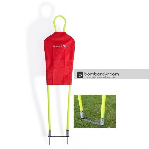 Футбольный манекен Yakimasport 100186 для штрафных ударов