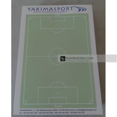 Тактический блокнот тренера по футболу А4 Yakimasport 100194