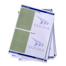 Тактический блокнот тренера для футбола Yakimasport 100037