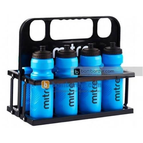 Спортивный контейнер для бутылок Mitre A5004AAA, спортивные бутылки Митре, поилки
