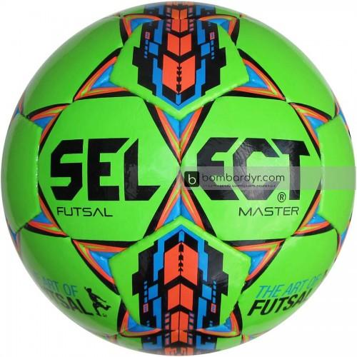 Мяч футзальный Select Futsal Master IMS зелёный