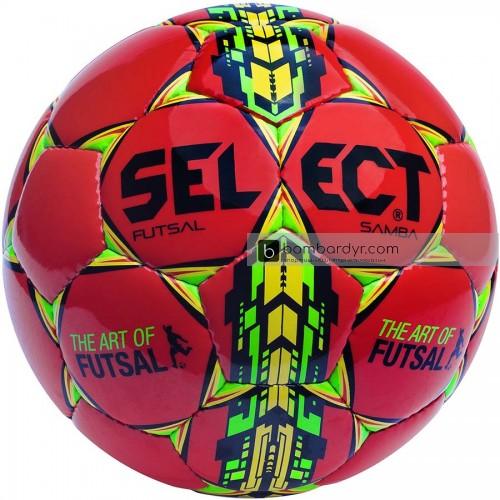 Мяч футзальный Select Futsal Samba IMS красный