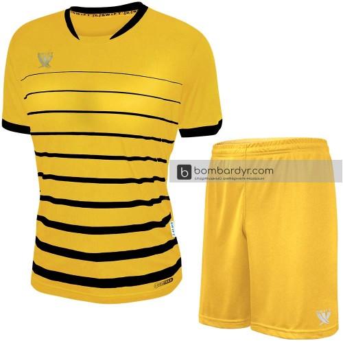 Форма футбольная Swift Fint (желто-черная)