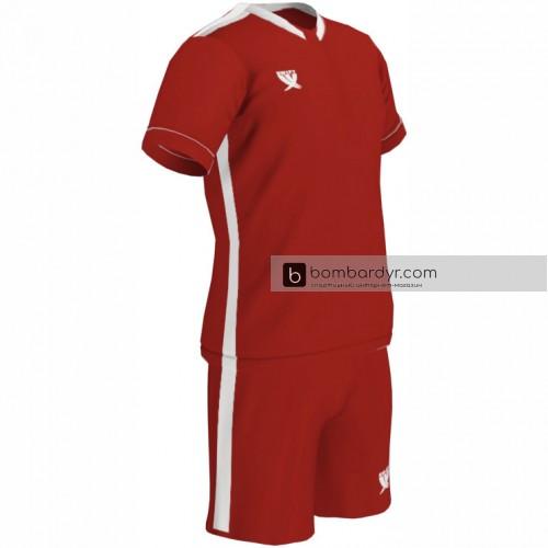 Детская футбольная форма Swift Prioritet красно - белая