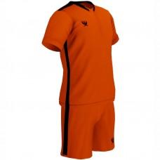 Детская футбольная форма Swift Prioritet неоново оранжевая - черная