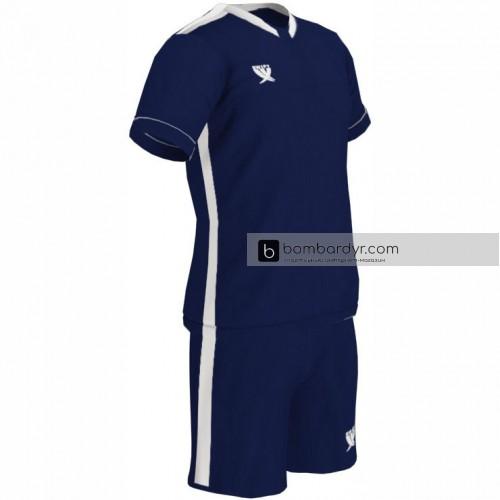 Детская футбольная форма Swift Prioritet т.сине-белая