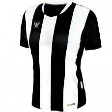 Футболка футбольная Swift Pescado (бело-черная)