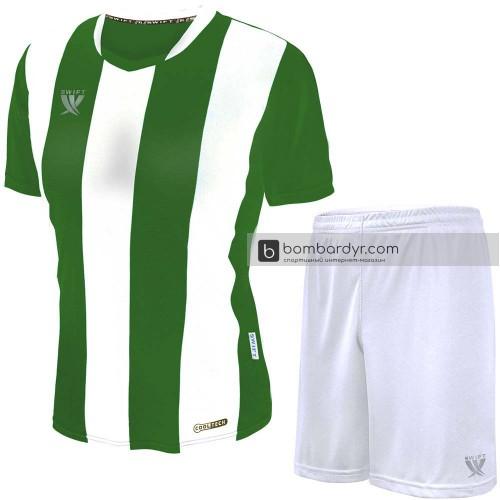 Форма футбольная Swift Pescado (зелёно-белая)