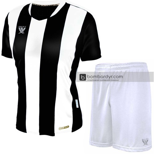 Форма футбольная Swift Pescado (бело-черная)