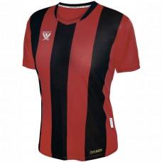 Футболка футбольная Swift Pescado (красно-черная)