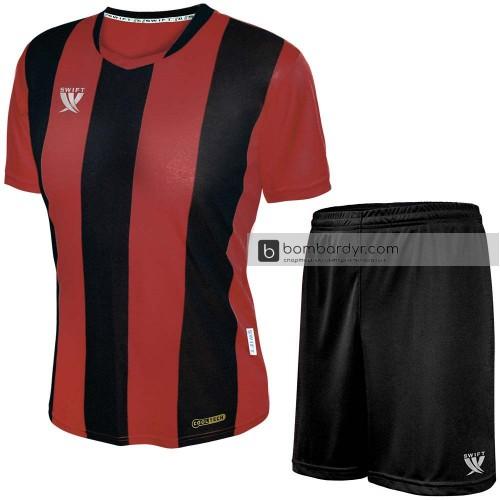 Форма футбольная Swift Pescado (красно-черная)