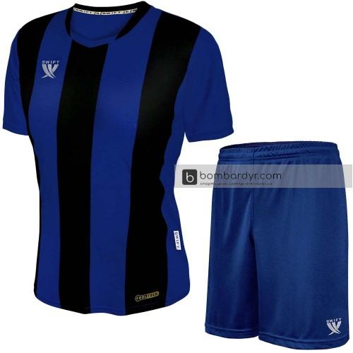 Форма футбольная Swift Pescado (чёрно-синяя)