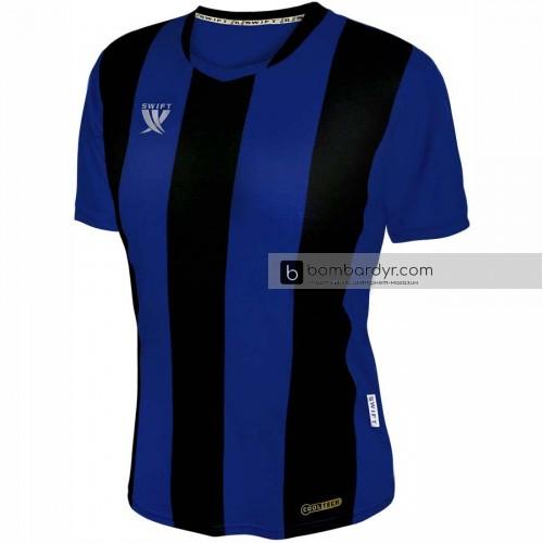 Футболка футбольная Swift Pescado (черно-синяя)