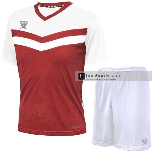 Форма футбольная Swift Romb CoolTech (красно-белая)