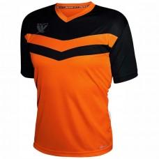 Футболка футбольная Swift Romb (неоново-оранжевая/черная)