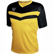 Футболка футбольная Swift Romb (желто-черный)