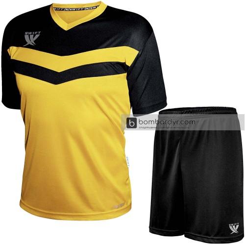 Форма футбольная Swift Romb CoolTech (желто-черная)