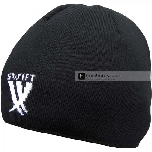 Шапочка зимняя SWIFT Beanie (тёмно-синяя)