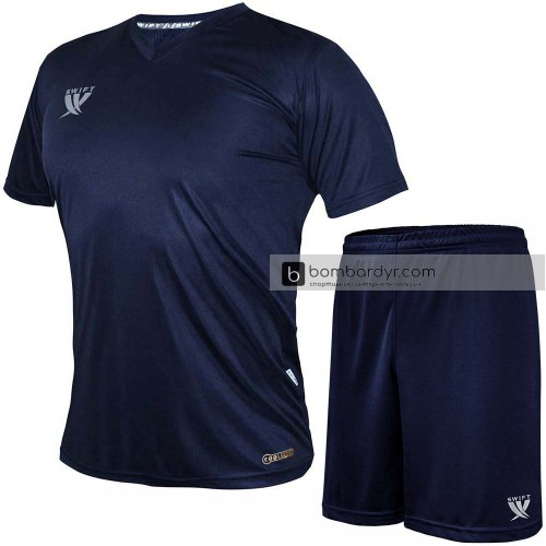 Форма футбольная Swift Vittoria CoolTech (тёмно-синяя)