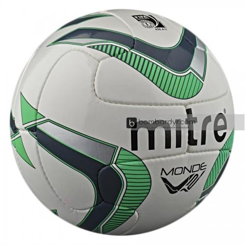 Мяч футбольный Mitre Monde V12 DV FIFA Inspected BB8009WGI