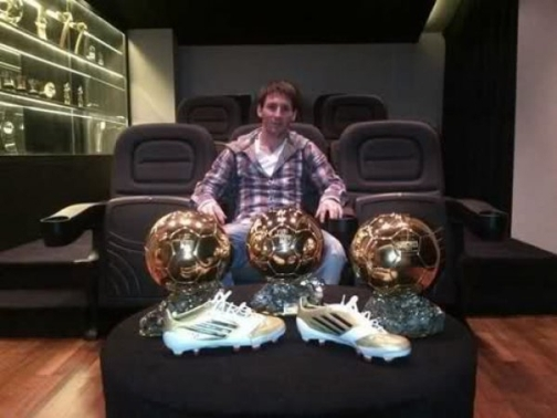 messi golden balls