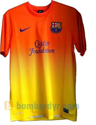 Barcelona'nın 2012-2013 sezonunda giyeceği yeni formalar