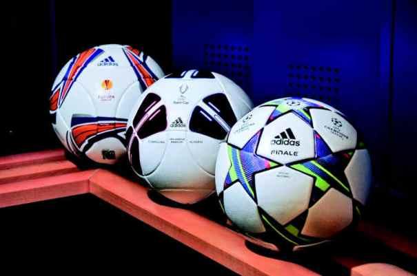 Новые футбольные мячи adidas...
