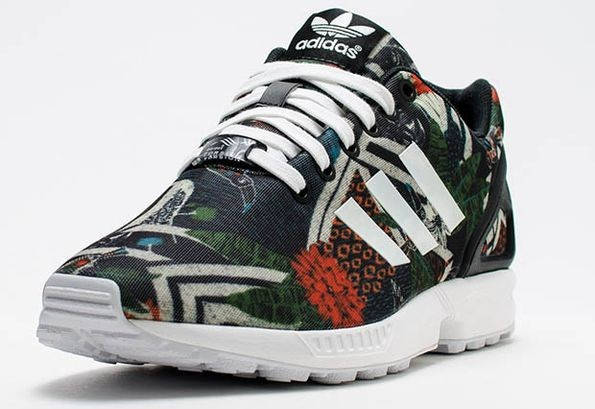 Женские городские кроссовки Adidas Originals ZX Flux. Фото 16865be44ea09
