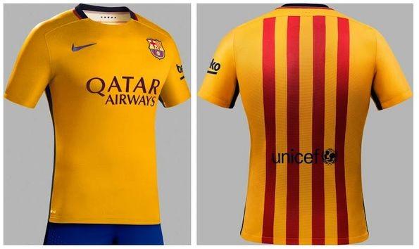 Футбольная форма Nike FC Barcelona Kit на сезон 2015-16, уникальный ... 043f4d6f827
