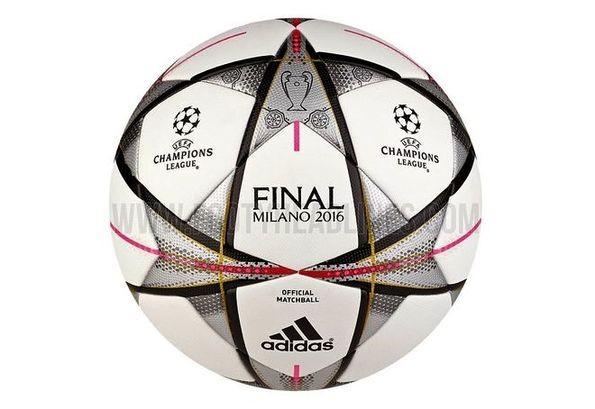 Мяч финала Лиги Чемпионов Adidas Finale Milano 2016 OMB. Фото e0012282f69ba