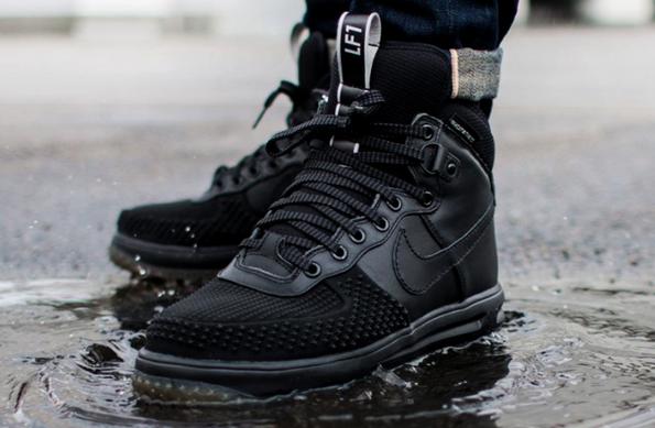 c1688f089023 Купить зимние кроссовки Nike Lunar Force 1 Duckboot, ботинки черные Найк