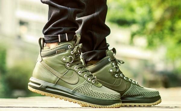 64b82ff8 Купить зимние кроссовки Nike Lunar Force 1 Duckboot, ботинки черные Найк